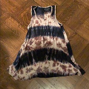 Tie dye Philosophy mini dress